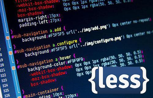 Синтаксис препроцессора Less